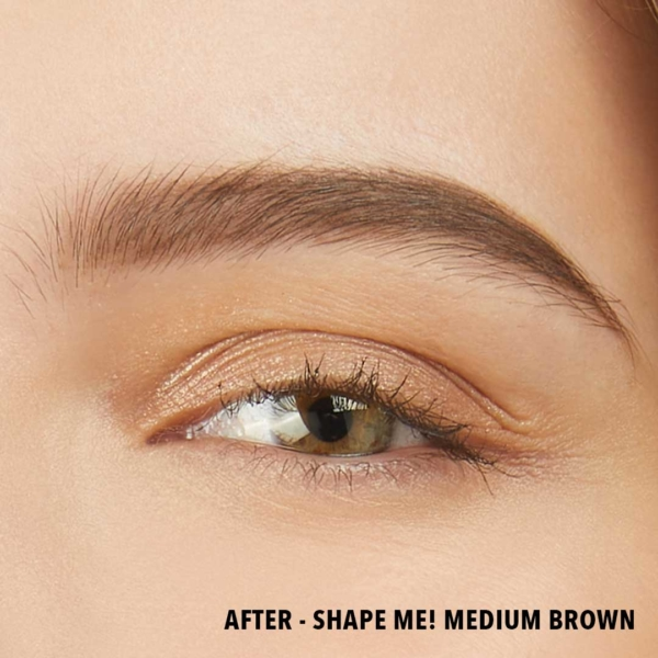 Shape Me Medium Brown After